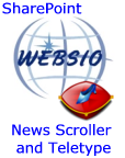 News Scroller and Teletype web parts